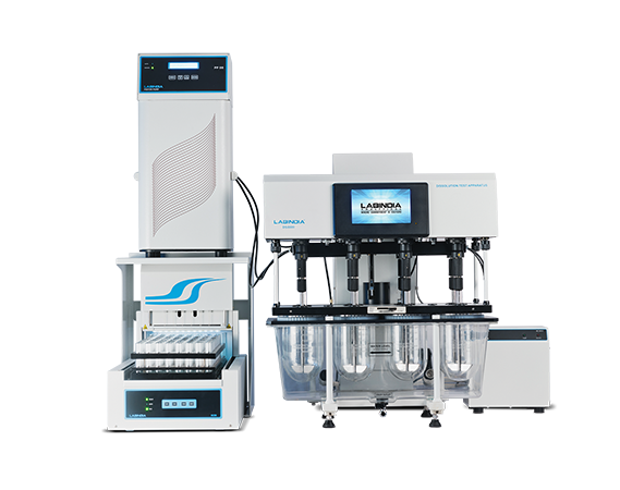 Dissolution Tester DS 8000 Smart with Piston Pump