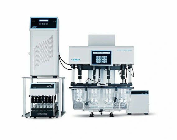 Tablet Dissolution Tester DS 8000 with Piston Pump