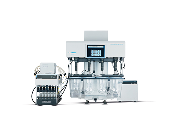 Dissolution Apparatus with Peristaltic Pump
