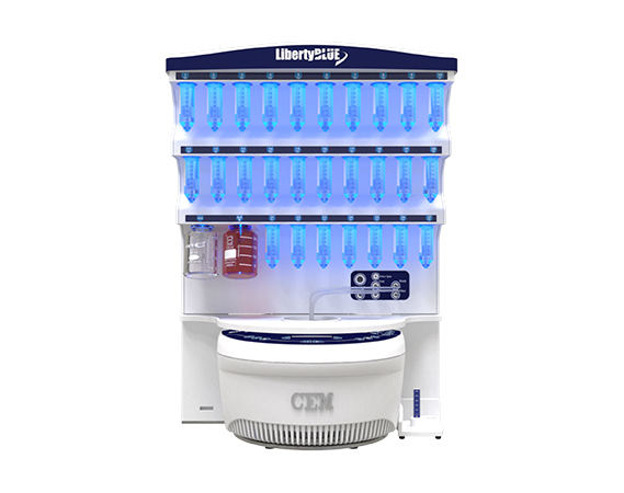 Microwave Peptide Synthesizer