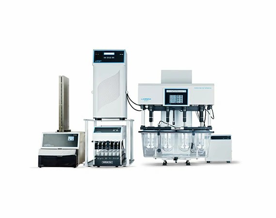 Tablet Dissolution Tester DS 8000 with Piston Pump and Automatic Filter Changer