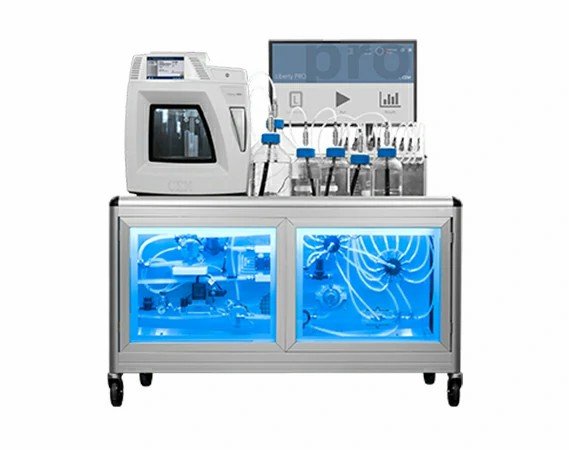 Automated Production Scale Microwave Peptide Synthesizer